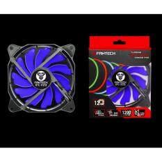 ขาย Fantech Fan Case พัดลมเคส ไร้เสียง พร้อมไฟ Led สำหรับคอมพิวเตอร์พีซี ขนาด 12Cm รุ่น Fc 122 สีน้ำเงิน ราคาถูกที่สุด