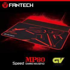 Fantech Mousepad Speed Edition แผ่นรองเมาส์แบบสปีด ขนาด 80x30cm รุ่น Mp80 (สีดำ/แดง).
