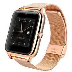 ขาย แฟชั่นบลูทูธสมาร์ทนาฬิกา Z50 สนับสนุนซิมและการ์ด Tf สมาร์ทจับภาพนาฬิกาข้อมือสำหรับโทรศัพท์แอนดรอยด์ ทอง ถูก ใน จีน