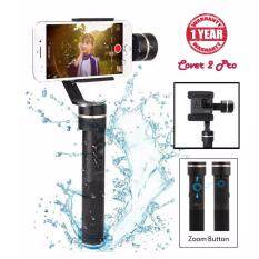 Feiyu Tech SPG (New Version) 3-Axis Splash-Proof Handheld Gimbal for iPhone & SmartPhone & GoPro