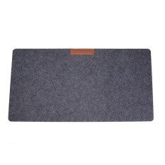 Felt Desktop Mouse Pad Keyboard Game Laptop Soft Table Mat A4 Files Cover(2mm) - Intl.