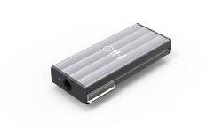 Fiio Dac Amp สำหรับคอมพิวเตอร์เเละสมาร์ทโฟน รุ่น K1 Silver เป็นต้นฉบับ