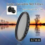 ขาย ฟิลเตอร์ Nd 67Mm Fader Variable Neutral Density Nd2 Nd4 Nd8 Nd16 To Nd400 Xcsource