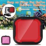 ทบทวน ฟิลเตอร์สีแดง สำหรับ Gopro Hero 3 Camera Case Xcsource