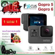 ฟิล์มกันรอย Film GoPro Hero 5 Black หรือ GoPro Hero 6 Black   / ซื้อ 1 แถม 1 / ยี่ห้อ Focus  / แบบใส / ฟิล์มกันรอยราคาถูก / ราคาถูกต่ำกว่า  199 บาท : Mobile House by Aofz (ส่งเร็ว เน้นบริการ ใส่ใจคุณภาพ)