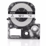 ซื้อ Fimax 1 Piece Compatible Epson King Jim Ss12Kw Lc 4Wbn 12Mm Black On White Label Tape For Epson Lw300 Lw400 Printer Intl ออนไลน์ ถูก