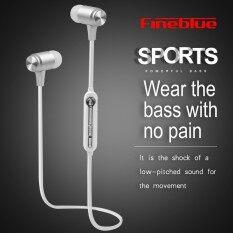 Fineblue Mate9 Wireless Bluetooth Earphone With Mic Wireless Headphone Sport Headset Running Earbuds Handsfree For Phone Music Intl จีน
