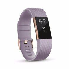 Fitbit Charge 2 Heart Rate large Rose gold รับประกัน1ปี รับประกันศูยน์ไทย