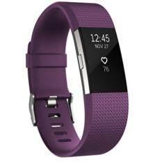 ขาย Fitbit Charge 2 Heart Rate สายรัดข้อมือเพื่อสุขภาพสีม่วง ขนาด Small ถูก Thailand