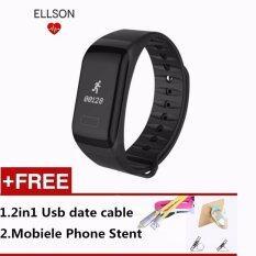 ขาย Fitness Tracker Wristband F1 Heart Rate Monitor Smart Band Smartband Blood Pressure With Pedometer Bracelet Intl เป็นต้นฉบับ