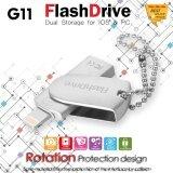 ซื้อ Flash Drive 64Gb G11 Usb 3 Metal Pendrive Hd แฟลชไดร์ฟสำรองข้อมูล Iphone Ipad ออนไลน์