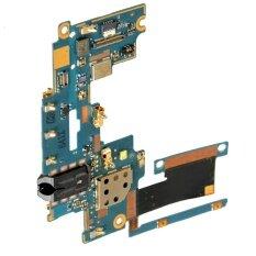 Flex Cable Headphone Audio Jack Power Volume For Htc One M7 801 Intl เป็นต้นฉบับ