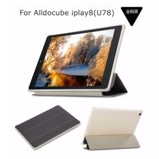 Flip Case (ดำ) รุ่น Alldocube (cube) Iplay8 (u78) / Teclast P89h Ultra Thin Pu Leather.