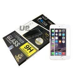 ขาย ซื้อ Focus 3Dff ฟิล์มกระจกนิรภัยแบบเต็มจอลงโค้ง 3D พร้อมฟิล์มหลังแบบใส Iphone 6 Plus 6S Plus Tempered Glass 3D Full Frame สีขาว ใน ไทย
