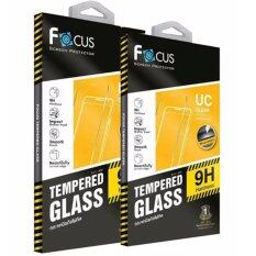 ซื้อ Focus ฟิล์มกันรอย กระจกนิรภัย แบบใส Tempered Glass Ultra Clear Iphone 7 Plus แพ๊ค 2 ชิ้น ถูก
