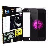 ราคา Focus ฟิล์มกระจกนิรภัย Tempered Glass Apple Iphone 7 Plus เต็มจอ สีดำ ใหม่