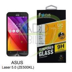 ซื้อ Focus ฟิล์มกระจกนิรภัยโฟกัส Asus Zenfone 2 Laser 5 Ze500Kl Tempered Glass ใหม่ล่าสุด