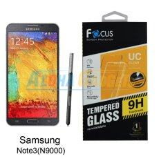ซื้อ Focus ฟิล์มกระจกนิรภัยโฟกัส Samsung Galaxy Note3 Tempered Glass ถูก ใน กรุงเทพมหานคร