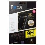ราคา Focus กระจกนิรภัยเต็มจอ Full Frame 3D ลงโค้ง Curved Fit ของแท้ สำหรับ Samsung Galaxy S8 Plus สีดำ Black เป็นต้นฉบับ