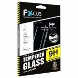 ราคา Focus ฟิล์มกระจกนิรภัยแบบเต็มจอ Full Frame Tempered Glass สำหรับ Iphone X สีดำ Focus