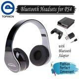 ราคา Foldable Bluetooth4 1 Wireless Gaming Headset Headphone Hifi Stereo Earphone For Ps4 Intl ออนไลน์ จีน
