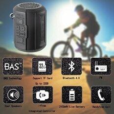 ขาย Foneso F041 ลำโพงบลูทูธ F1 ไร้สายแบบพกพาเครื่องเล่นสำหรับการท่องเที่ยวกลางแจ้งจักรยานขี่จักรยาน 6 วัตต์ที่แข็งแกร่ง Passive หม้อน้ำพร้อมรีโมทคอนโทรลและห่วงโลหะห่วง ออนไลน์ ใน จีน