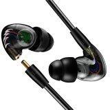 ทบทวน ที่สุด Fonge โปร F1 หูฟัง Pluggable ในหูฟังหูฟังหูฟัง Mp3 เครื่องเล่นเพลง นานาชาติ