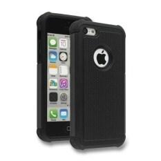 Moonmini Football Pattern Pc Silicone Hybrid Phone Back Shell With Hole Design Case For Apple Iphone 5C Black Intl ใหม่ล่าสุด