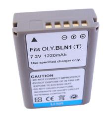 แบตเตอรี่กล้อง รุ่น BLN-1 / BLN1 แบตกล้องโอลิมปัส Olympus OM-D E-M5, Olympus E-M5, Olympus OM-D E-M5 II, Olympus E-M5 II, Olympus OM-D E-M1, Olympus E-M1, Olympus PEN E-P5, Olympus E-P5, Olympus PEN-F...Replacement Battery for Olympus