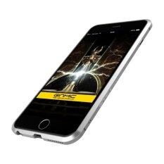 ขาย สำหรับแอปเปิ้ล Iphone 6 บวก 6 วินาทีบวก 5 5 หรูหรา Ginmic กรอบอลูมิเนียมสกรูกรณี Bumper เงิน ออนไลน์ จีน