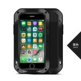 ส่วนลด For Apple Iphone 6Plus Iphone6Splus Waterproof Shockproof Case Love Mei Powerful Gorilla Toughened Glass Hard Aluminum Metal Cover Cases Intl Love Mei จีน