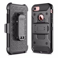 ซื้อ For Apple Iphone Se 5 5S Steel Clamp Guluguru Heavy Duty Advanced Armor Belt Clip Holster With Built In Kickstand Cell Phone Drop Protection Case Cover Intl ใหม่ล่าสุด