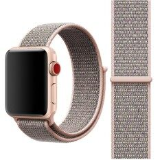 ขาย For Apple Watch Series 3 And 2 And 1 38Mm Simple Fashion Nylon Watch Strap With Magic Stick Pink Intl ใหม่