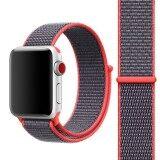 ราคา For Apple Watch Series 3 And 2 And 1 42Mm Simple Fashion Nylon Watch Strap With Magic Stick Magenta Intl ถูก