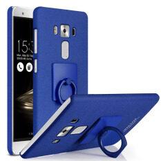 ราคา For Asus Zenfone 3 Ze552Kl Imak Frosted Kickstand Hard Shell With Metal Ring Blue Intl เป็นต้นฉบับ