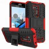 โปรโมชั่น For Asus Zenfone Go Zb551Kl Case Heavy Duty Armor Shockproof Silicon Rubber Hard Back Phone Cover For Zenfone Go Tv Zb551Kl 5 5 Red Intl จีน