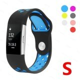 ส่วนลด For Fit Bit Charge 2 Soft Silicone Adjustable Fashion Sport Strap For Fit Bit Charge 2 Replacement Fitness Accessory Wristband With Hole Intl Starplay ใน จีน