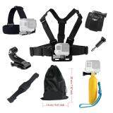 For Hero 6 5 4 3 2 1 Accessories Set Floating Chest Head Hand Helmet Mount Strap For Sj4000 Sj5000X And Other Action Camera Intl ใหม่ล่าสุด