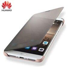 ส่วนลด สำหรับ Huawei เพื่อน 9 100 เดิมกรณีหรูหราหน้าต่างสมาร์ทดูพลิกปกหนังเปลือกป้องกันสำหรับ Huawei เพื่อน 9 5 9 นิ้ว ปลอกโทรศัพท์มือถือสำหรับ Huawei Mate9 Unbranded Generic จีน