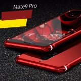 ราคา For Huawei Mate 9 Pro Ultra Thin Case Luxury Plating Aluminum Alloy Frame Mirror Back Cover Phone Cases Color Red Intl เป็นต้นฉบับ Unbranded Generic