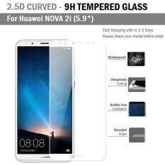 ราคา ฟิล์มกันรอย กระจก นิรภัย เต็มจอ เก็บขอบ แนบสนิท For Huawei Nova 2I สีขาว 5 9 Premium Tempered Glass 9H 2 5D White ใหม่ ถูก