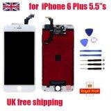 ซื้อ สำหรับ Iphone 6 Plus หน้าจอสัมผัส Lcd Digitizer Display ปุ่ม Home สีขาว 5 5 Uk ใหม่ล่าสุด