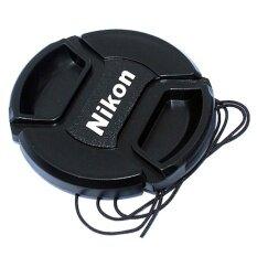 For Nikon ฝาปิดหน้าเลนส์ 52 MM (สีดำ)
