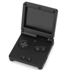 For Nintendo Game Boy Advance GBA SP Protective ABS Case Cover Repair Parts Kit Black - intl