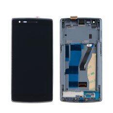 ขาย ซื้อ ออนไลน์ For Oneplus One 1 A0001 Lcd Screen Display Digitizer Touch Frame Assembly Intl