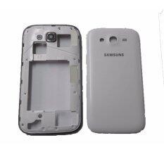 ทบทวน For Samsung ชุดบอดี้พร้อมฝาหลัง Samsung Galaxy Grand Gt I9082 สีขาว รุ่น Fss002Sw For Samsung