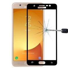 ราคา For Samsung Galaxy J7 Max 26Mm 9H Surface Hardness 2 5D Curved Silk Screen Full Screen Tempered Glass Screen Protector Black Intl