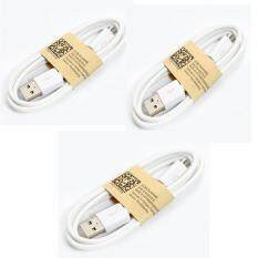 ความคิดเห็น For Samsung สายชาร์จ Micro Usb สีขาว แพ็ค 3 ชิ้น White
