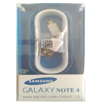For Samsung USB CABLE สายชาร์จ USB Note 4 (สีขาว)