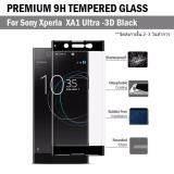 ขาย ฟิล์มกันรอย กระจก นิรภัย เต็มจอ เก็บขอบแนบสนิท For Sony Xperia Xa1 Ultra สีดำ 6 Premium Tempered Glass 9H 3D Black